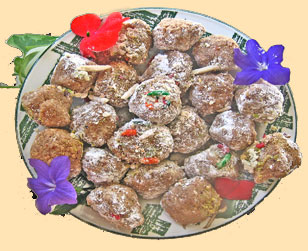 almond laddoo